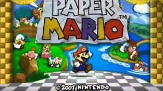 Paper Mario Music - Huffin