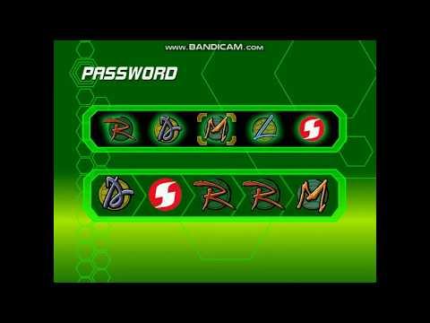 Passwords Of TMNT 2003