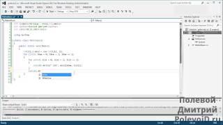 Научиться программировать - C# - матрицы (создание и печать)