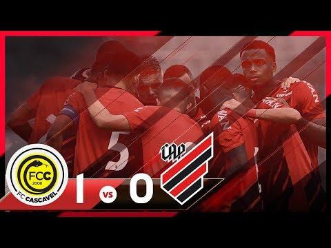 FC Cascavel 1x0 Athletico Paranaense | MELHORES MOMENTOS