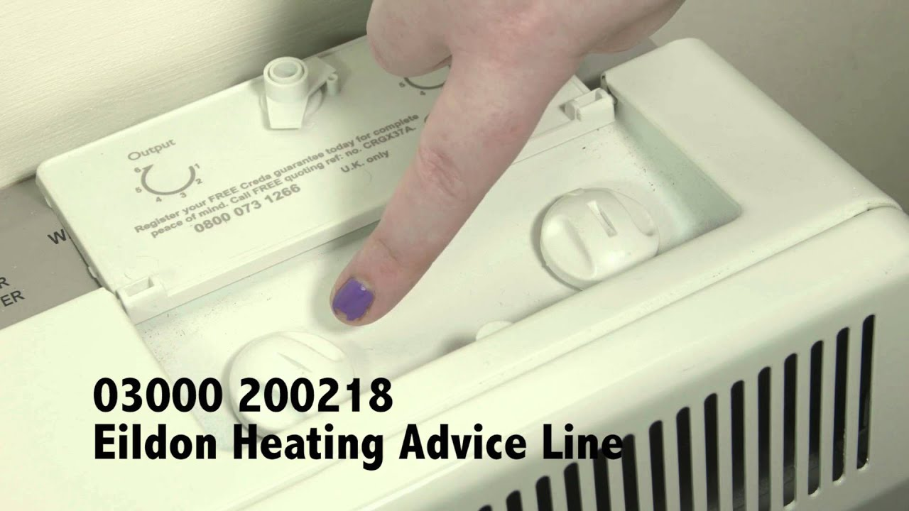 How To Set The Basic Controls Of Electric Storage Heaters