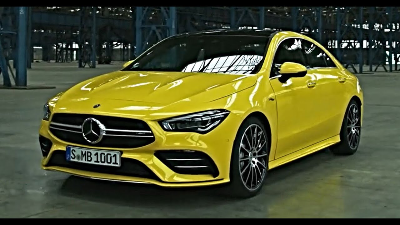 new mercedes cla class 2020 cla35 amg coupe interior exterior drive