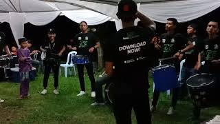 Drumfunk Official - Short Practice before Perform