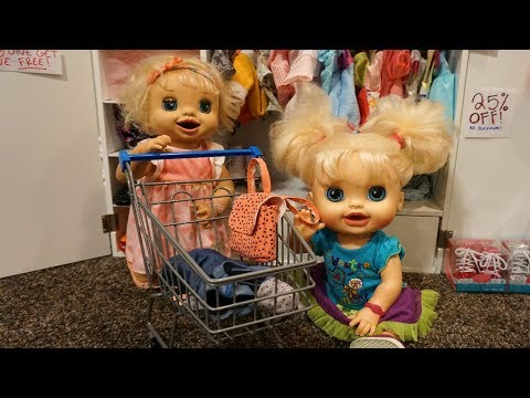 BABY ALIVE Back To School Shopping!