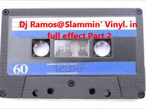 Dj Ramos @ Slammin' Vinyl.  in full effect Part 2