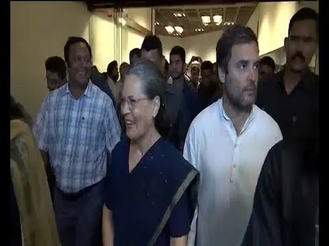 Very Soon, says Sonia Gandhi on Rahul Gandhi taking over as Congress President