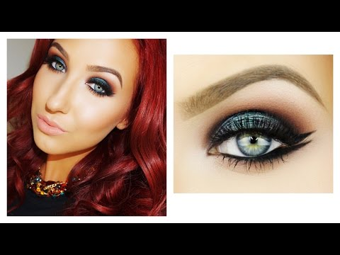 Emerald Smokey Eye & Double Wing Liner | Makeup Tutorial | Jaclyn Hill thumbnail