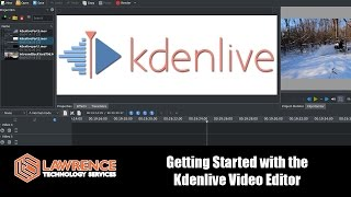 Getting Started with Kdenlive 16.12, importing, cutting, fading, and rendering your first project