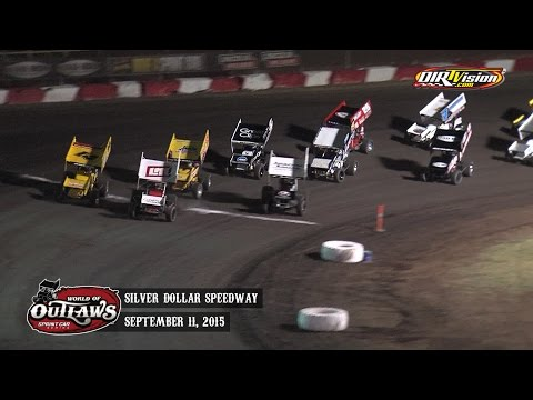 Highlights: World of Outlaws Sprint Cars Silver Dollar Speedway September 11th, 2015