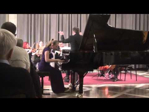 Mozart Concert KV414  Eva Gevorgyan - 1 part and Prof. Pavel Gililov - 2,3 parts