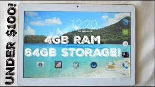 """LLLCCORP 10"""" 64GB/4GB RAM On A $99 Dual SIM Android Tablet!! (Unboxing & 1st Impressions)"""