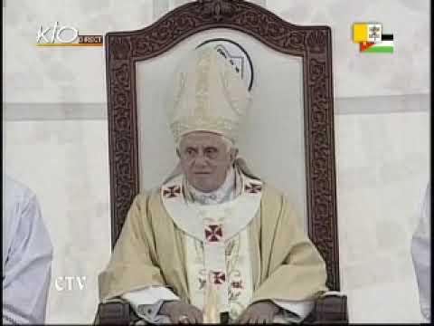 Messe au stade international d' Amman