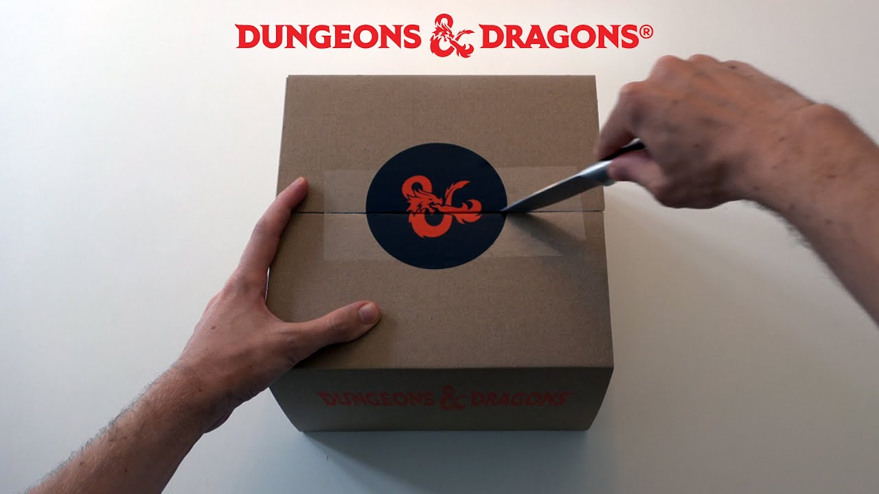 Exclusive D&D UNBOXING - from Dungeons & Dragons Dark Alliance!