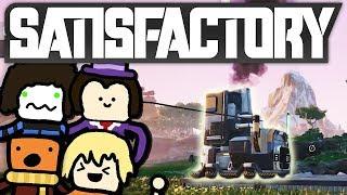 Die ersten großen Maschinen! | Satisfactory #2