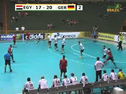 Egypt vs Germany 2015 Men's Junior World Handball Championship