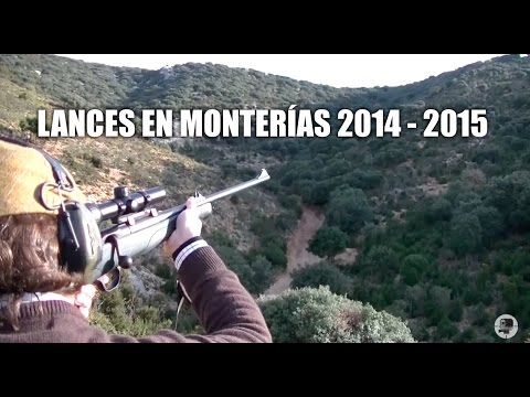 Videos de Caza Mayor | Lances en Monterías  2014 - 2015
