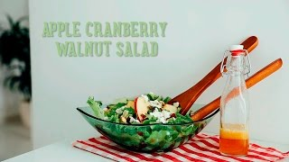 Apple Cranberry Walnut Salad [ba Recipes]