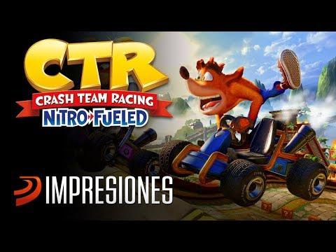 Primeras horas jugando a Crash Team Racing Nitro-Fueled