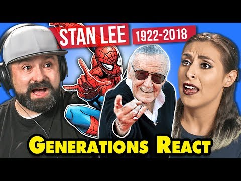 Generations React To Stan Lee Marvel