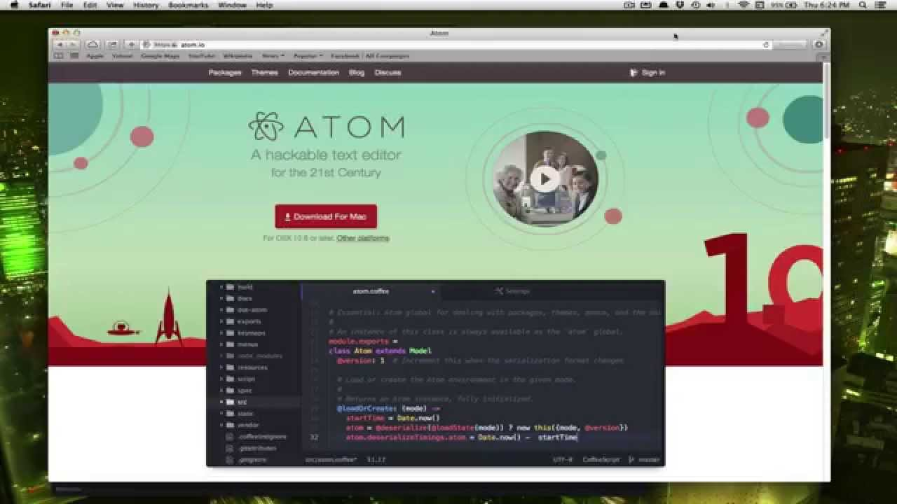 Extra: Setting up the Atom Editor for Python