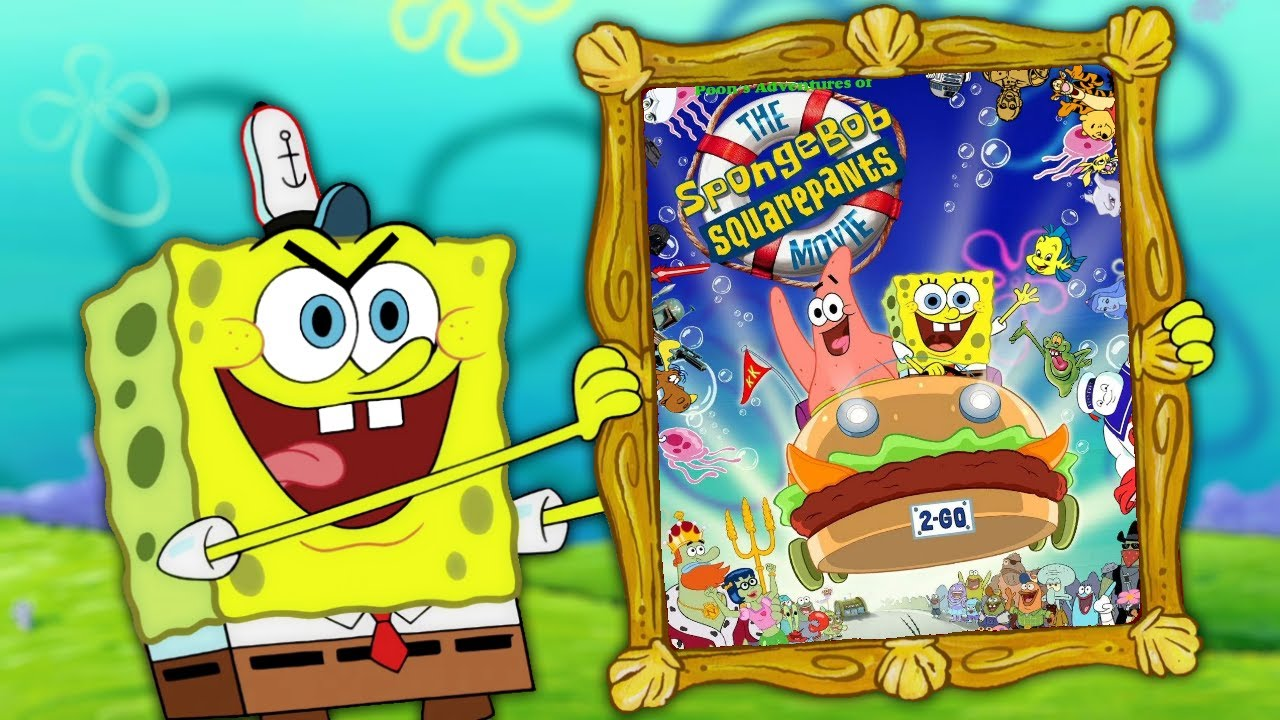 The SpongeBob SquarePants Movie (2004) - Posters — The ... |Spongebob Movie Poster