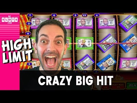 🤪 CRAZY Money = CRAZY Big Hit 💵 High Limit INSANITY 💥 ✦ BCSlots #AD