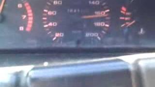 mi peugeot 505 con gnc a fondo 185 km h