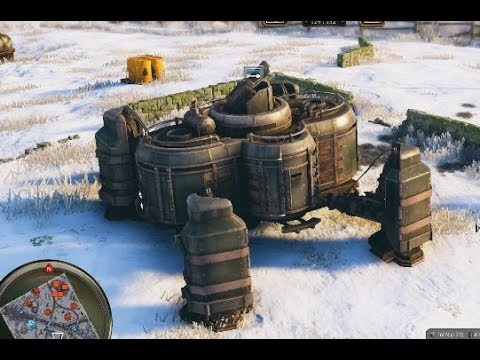IRON HARVEST  - Structures, Units & Mechs Comparison  - New Mech Strategy War Game 2019