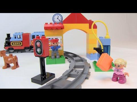 lego duplo eisenbahn starter set test review youtube. Black Bedroom Furniture Sets. Home Design Ideas