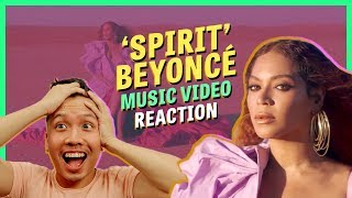 REACTION: BEYONCÉ — SPIRIT music video (from The Lion King 2019)