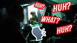 I CAN'T HEAR YOU DRIVE THRU PRANK!! GONE WRONG! (EMPLOYEE CAME OUT!!) SO FUNNY!