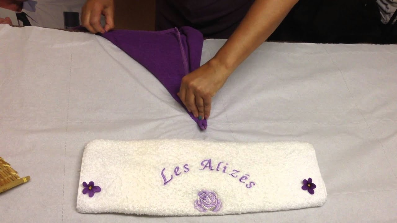 Attractive Pliage De Serviette De Toilette #6: Pliage Serviette De Bain Cygne