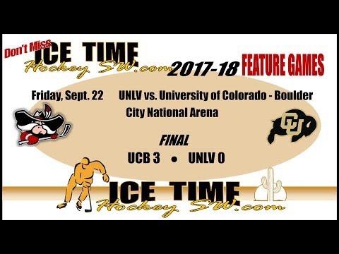 UNLV vs University of CU Boulder 9-22-17
