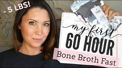 60 HOUR BONE BROTH FAST RESULTS | Keto Reboot | Ashley Salvatori
