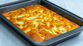 Snadný a rychlý recept na jablečný dort pouze se 7 běžnými ingrediencemi!