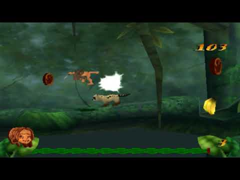 Disney Tarzan Round 1 Ps1 For Pc - Old Games