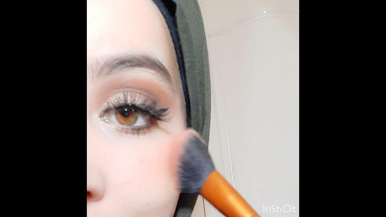 Tuto maquillage pour débutant - NAKED 3 - YouTube