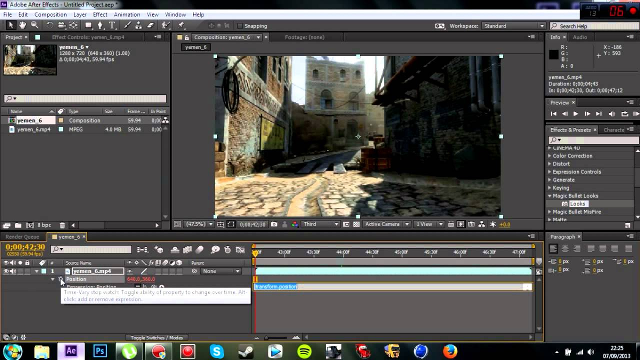Adobe after effects wiggler earthquake tutorial youtube.
