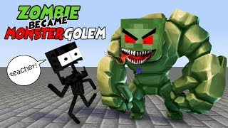 MONSTER SCHOOL : Mobs + Skeleton and Wither's Father + HEROBRINE VS. ZOMBIE GOLEM