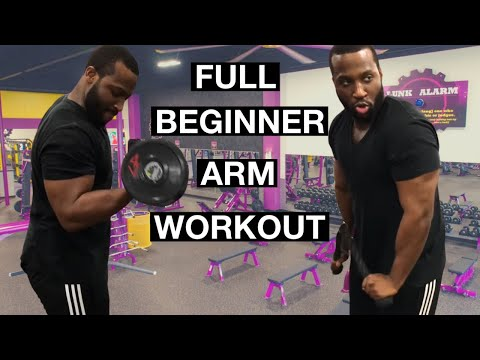 Arm Workout For Beginners At Planet Fitness