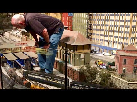 Worlds Largest Model Railroad Layout!  Entertrainment Junction!