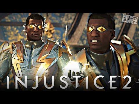 Injustice 2 Ranked Online - First Time Using Black Lightning Online!!