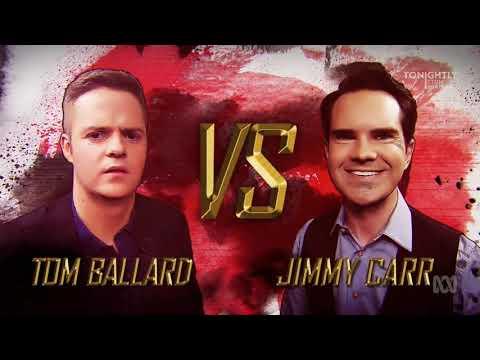 Jimmy Carr on Tonightly with Tom Ballard 2018-01-11