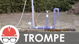 Compress Air with No Moving Parts! - Trompe