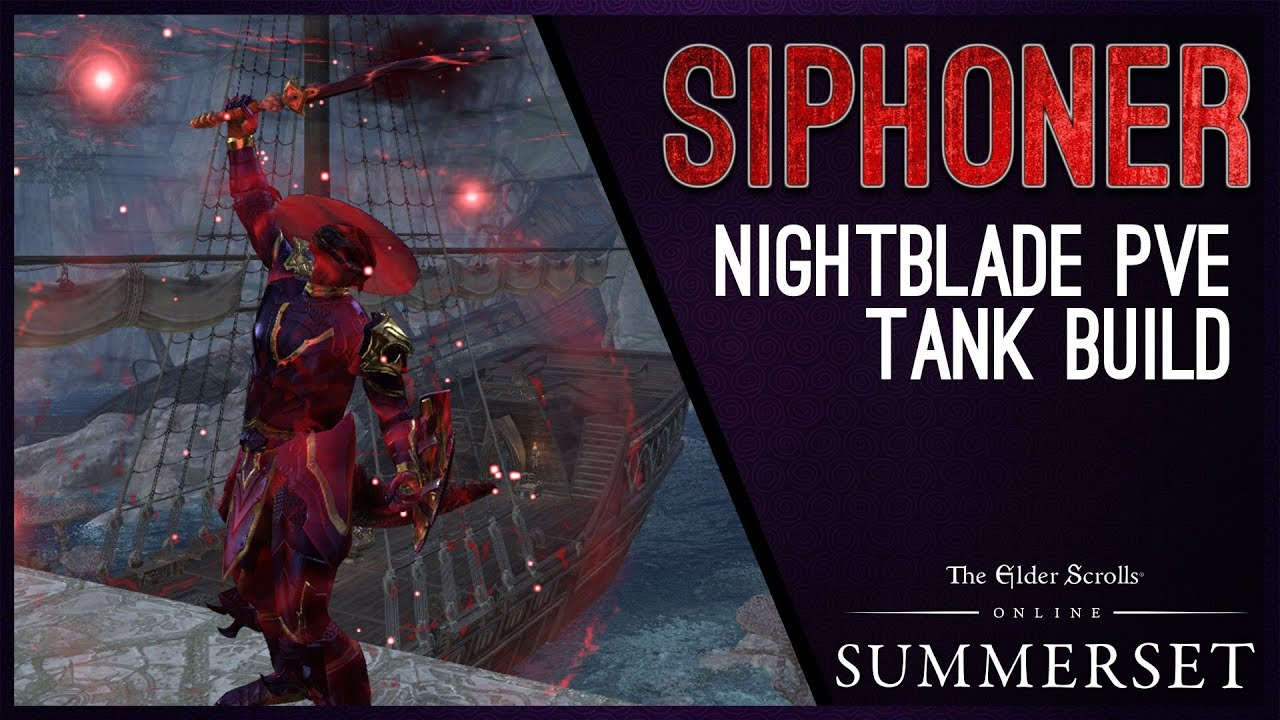 ESO Nightblade Stamina Tank PvE Build (UPDATED: September 2019