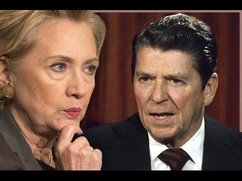 Hillary Goes Full Reagan In