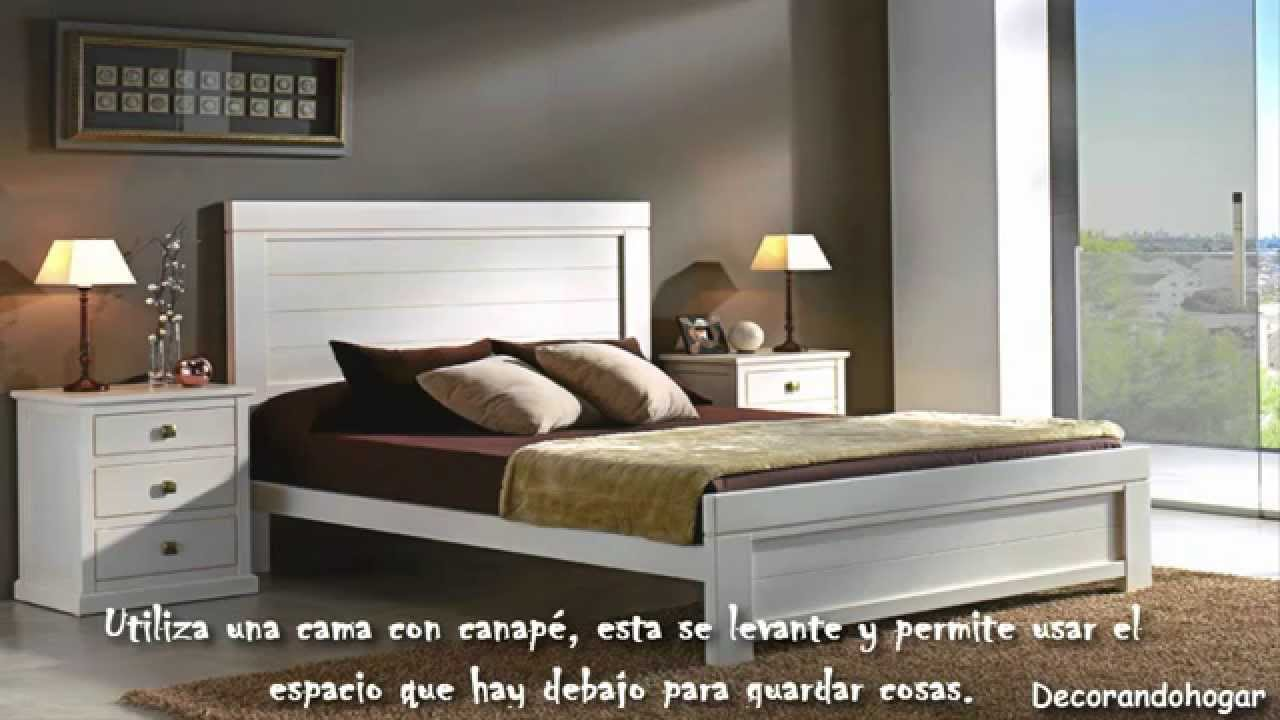 Decorar dormitorio peque o habitaci n peque a youtube - Como decorar dormitorios pequenos ...