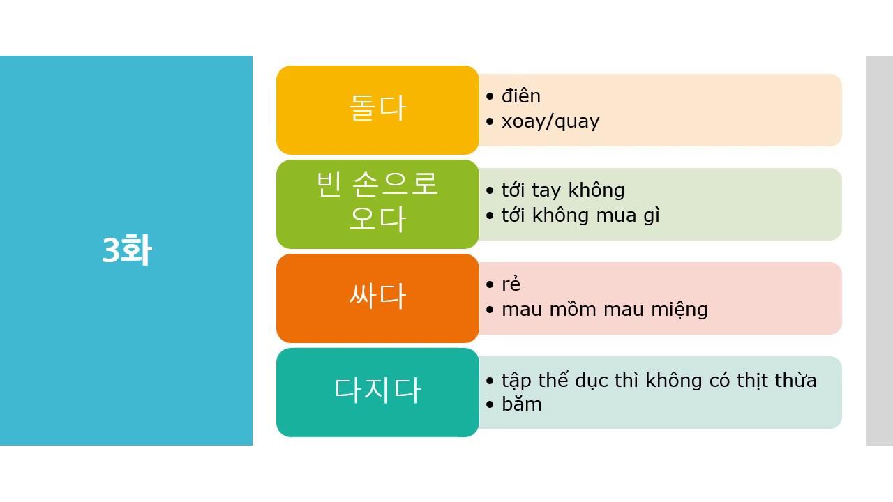 """""""Quân vương bất diệt"""" – #1(tập 3) – Học tiếng Hàn bằng phim Hàn"""