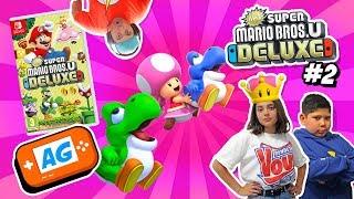 Yoshi Baby en Super Mario Bros U DELUXE en Español con Abrelo Game capitulo #2