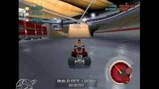 ATV Quad Power Racing 2 GameCube Gameplay - Burning rubber